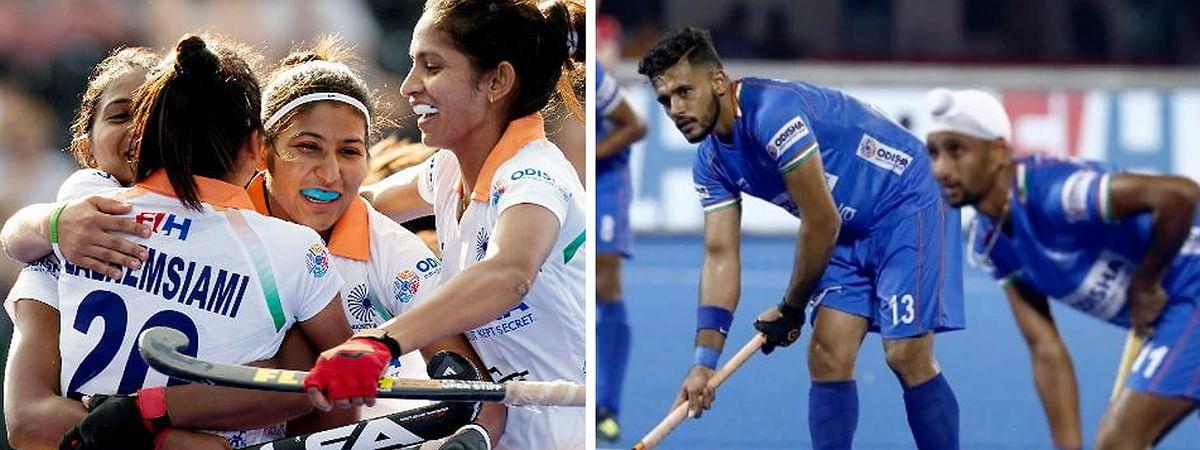 भारतीय महिला-पुरुष हॉकी टीम ओलंपिक क्वालिफिकेशन के नजदीक