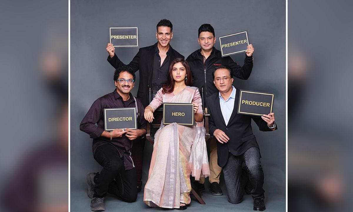 अक्षय कुमार ने की एक और फिल्म की घोषणा, लीड रोल में भूमि पेडनेकर