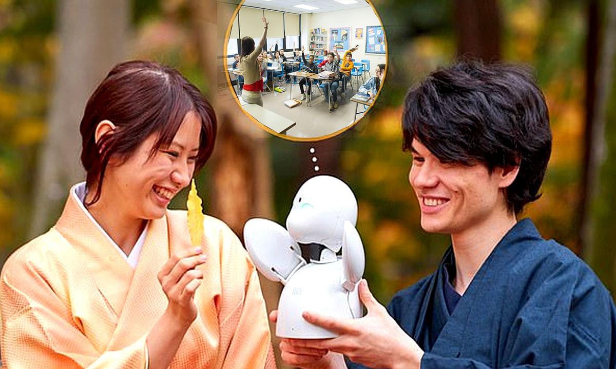 जापान: स्टूडेंट की जगह अब रोबोट जाएगा क्लास अटैंड करने