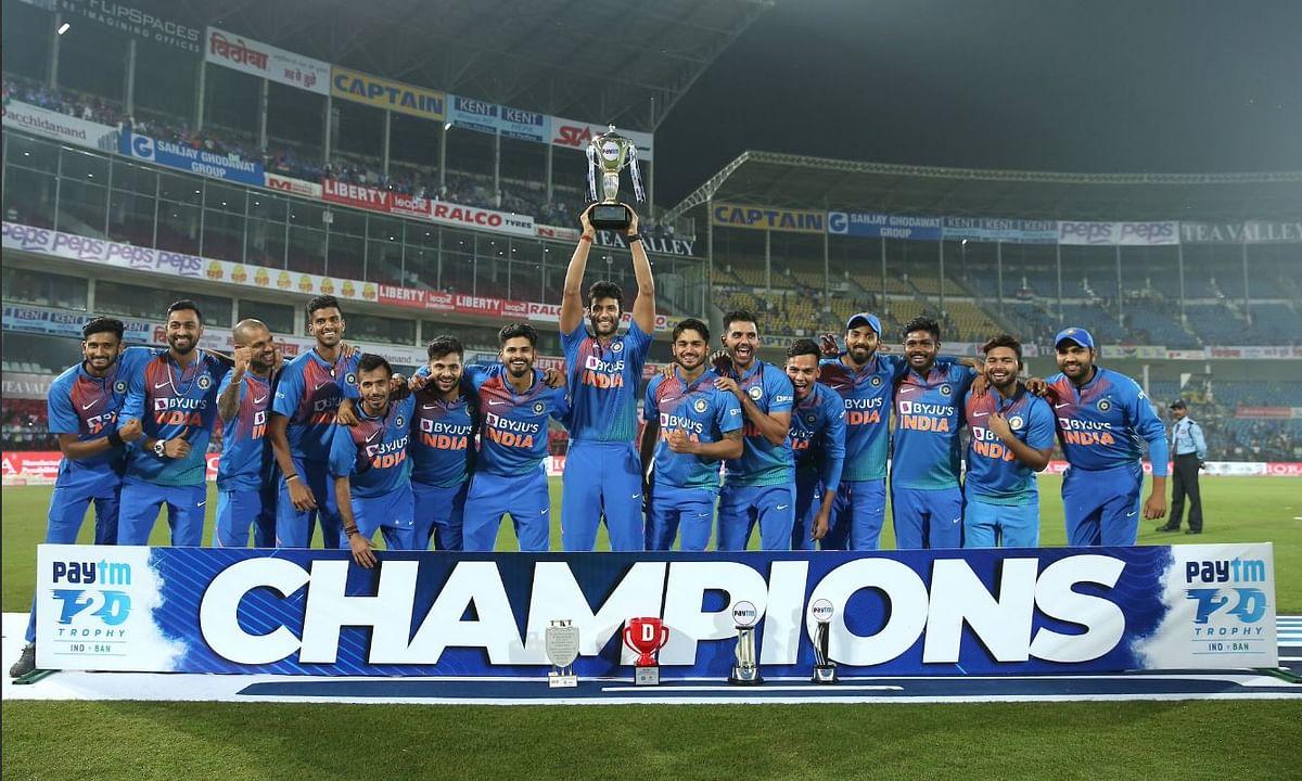 दीपक चाहर की हैट्रिक का कमाल, भारत की 2-1 से सीरीज फ़तेह