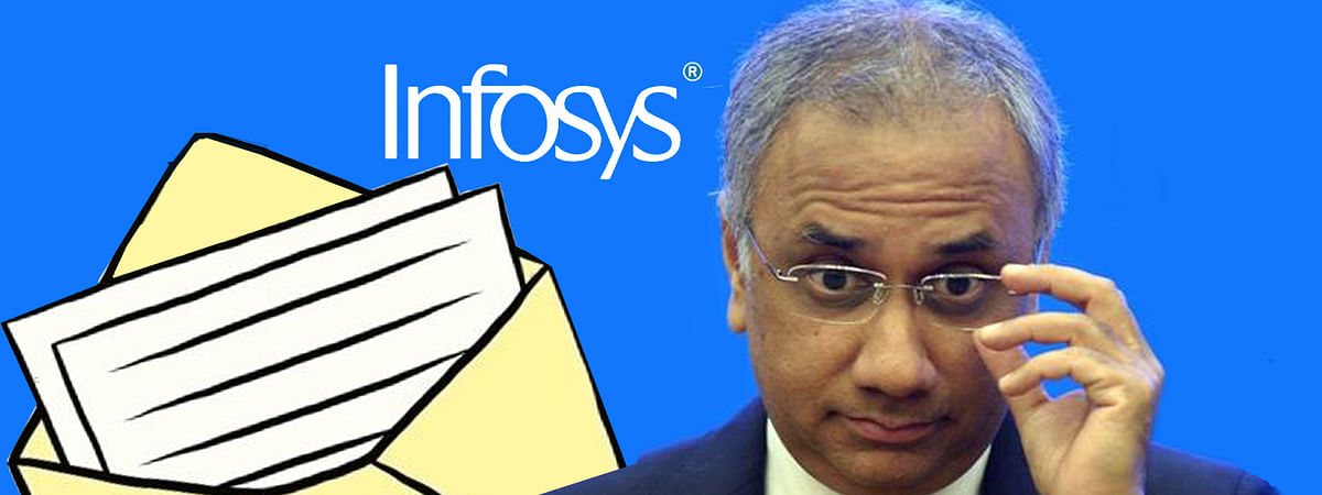 Unknown letter against CEO of Infosys