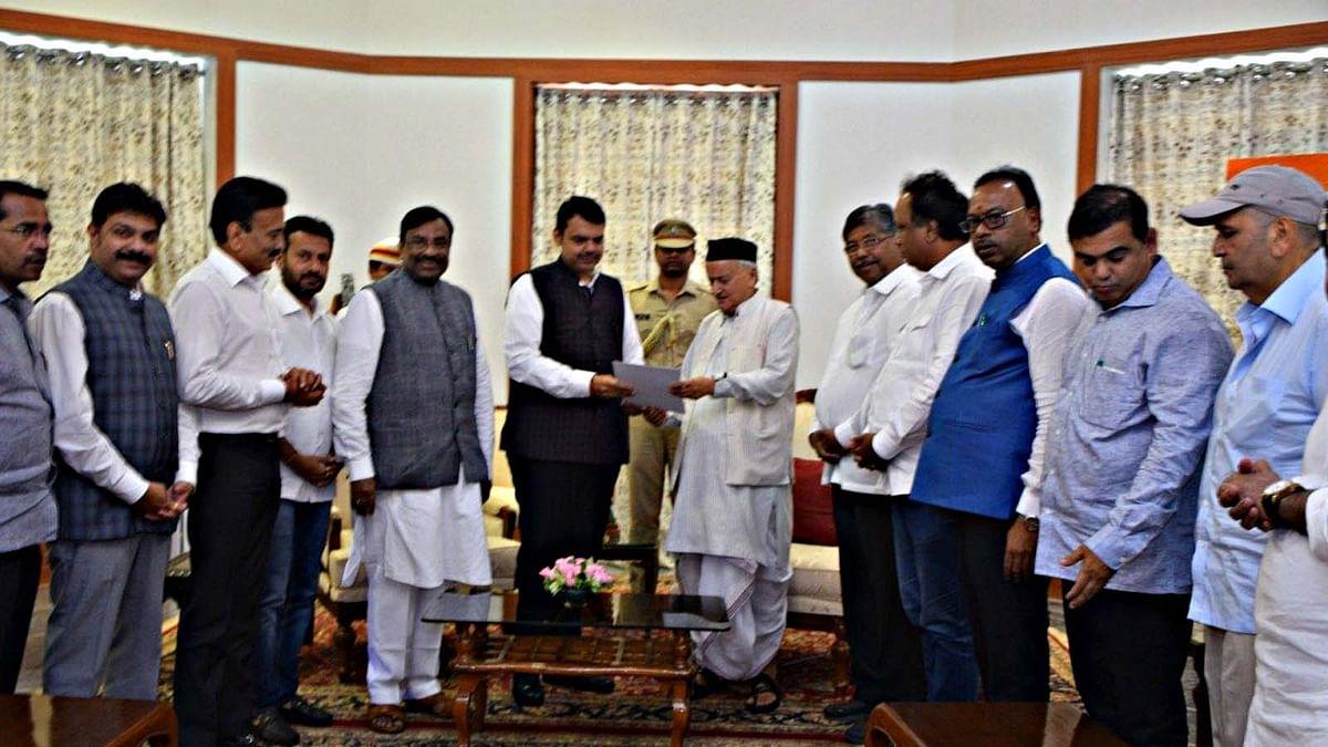 Devendra Fadnavis Resign