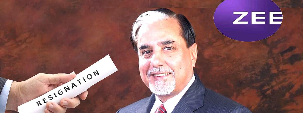 zee Entertainment Chairman Subhash Chandra Resigns