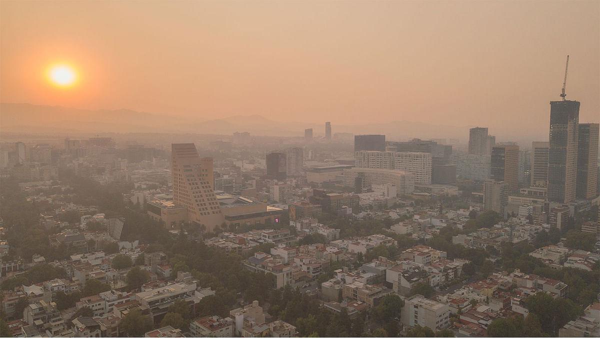 प्रदेश की प्रदूषित हवा कर रही लोगों की आयु कम