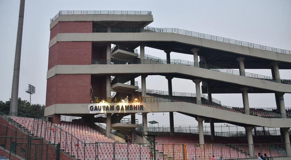 अरूण जेटली स्टेडियम गौतम गंभीर स्टैंड (Gautam Gambhir Stand)
