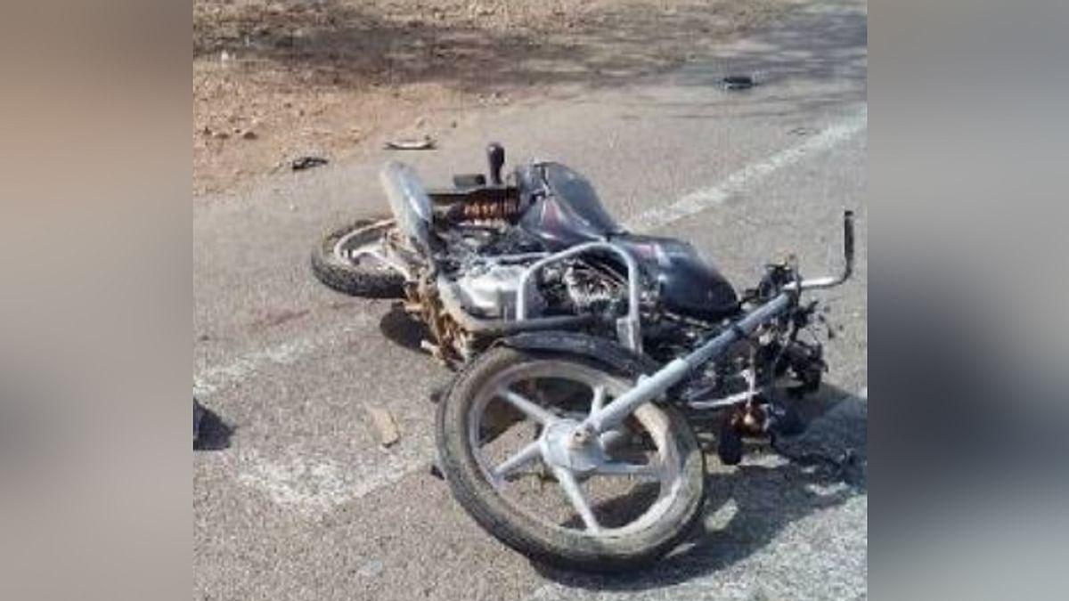 भिंड: हादसा! ट्रैक्टर ने बाइक को मारी टक्कर, 3 की मौत