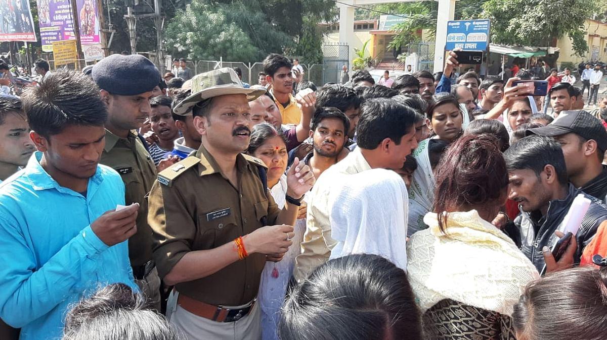 छात्रा की मौत पर 4 घंटे जाम में फंसा रहा छतरपुर