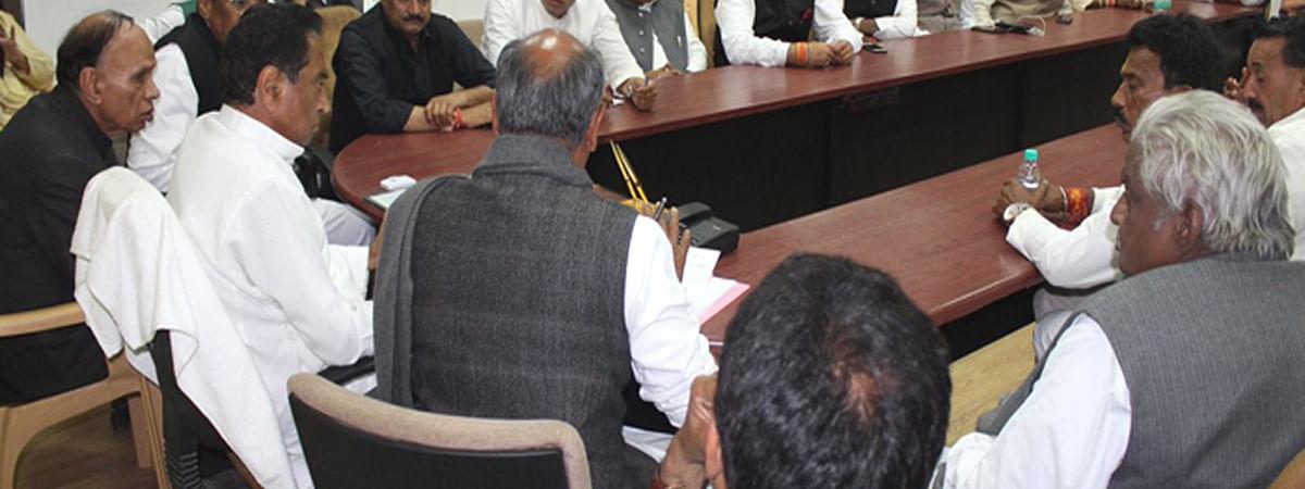मुख्यमंत्री मंत्रिमंडल बैठक