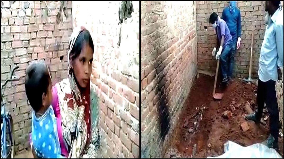 अनूपपुर: पत्नी ने की वकील पति की हत्या, कब्र पर बनाती रही खाना