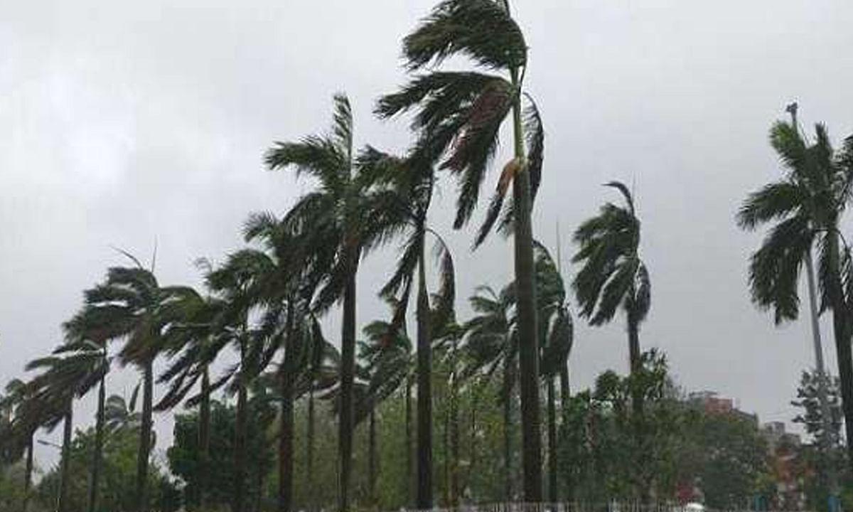 भोपालः 'महा'  तूफान के साथ बदलेगा बारिश का रुख