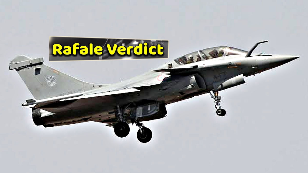 Supreme Court Verdict On Rafale