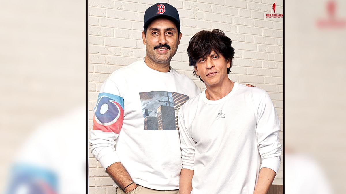 अभिषेक बच्चन ने मिलाया शाहरुख़ से हाथ, इस फिल्म में आएंगे नजर