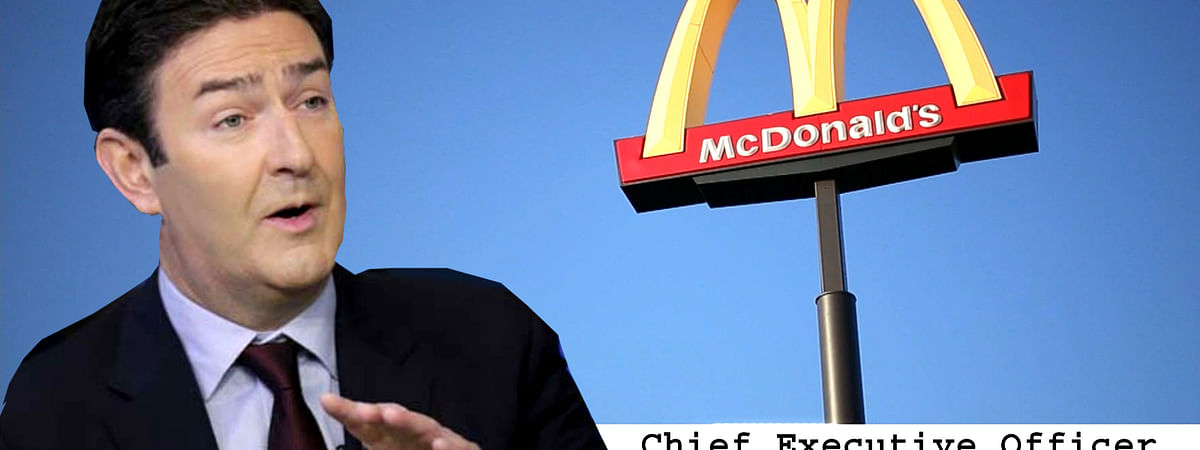 McDonald CEO Steve Easterbrook