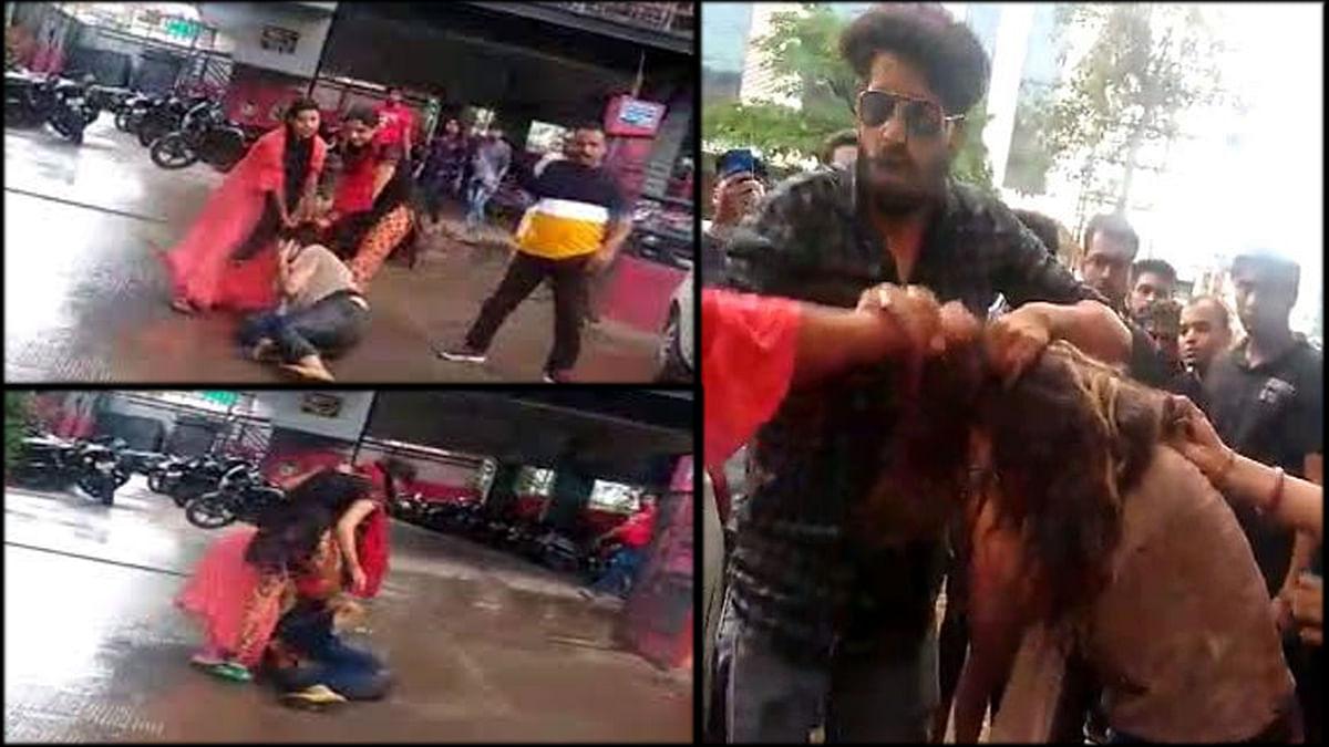 इंदौर: गर्लफ्रेंड के साथ फिल्म देखना पड़ा भारी,पत्नी-साली ने पकड़ा