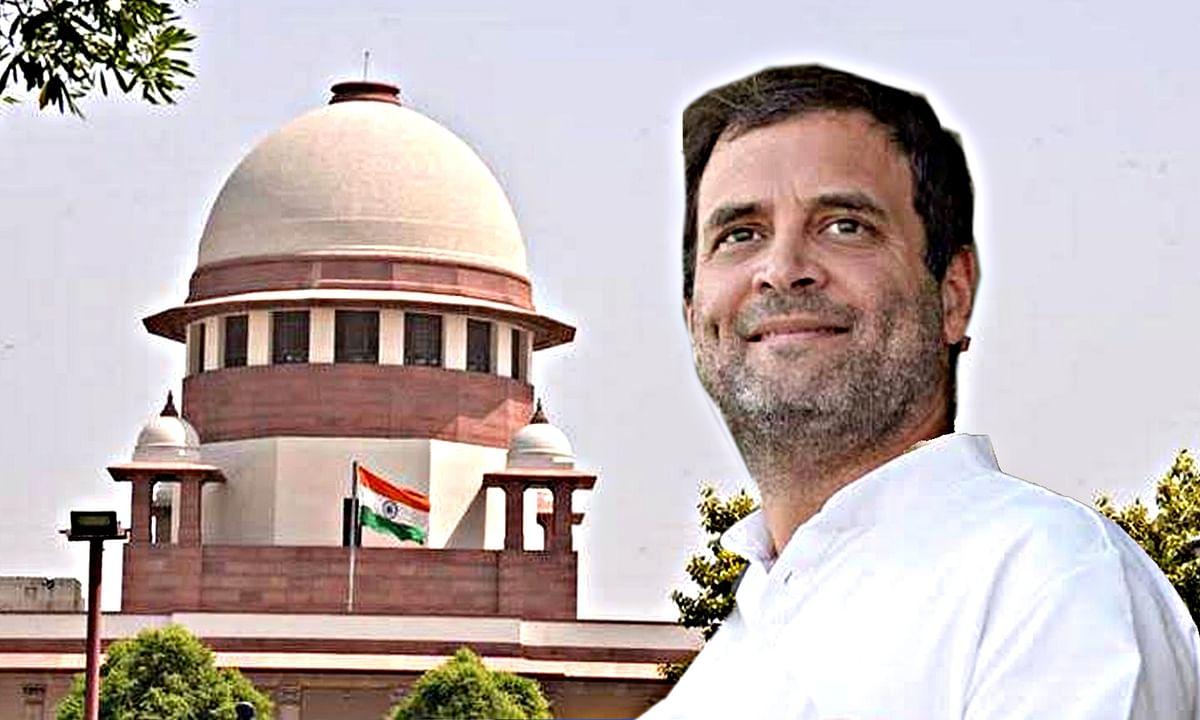 राहुल गांधी को सर्वोच्च न्यायालय की चेतावनी के साथ राहत
