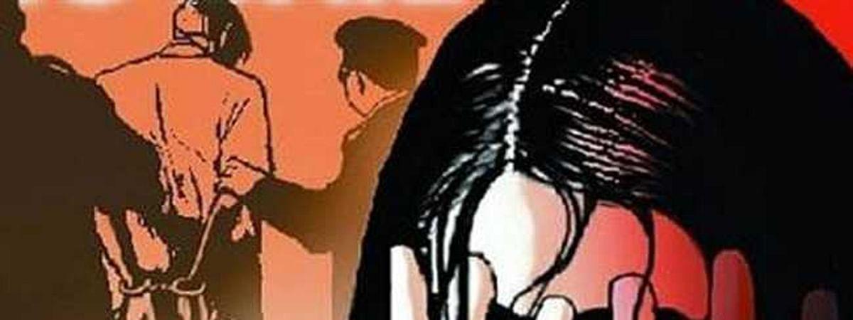 किशोरी के साथ बलात्कार
