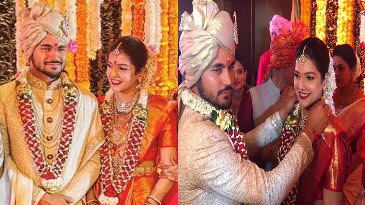क्रिकेटर मनीष पांडे ने रचाई शादी, विराट और रोहित ने दी बधाई