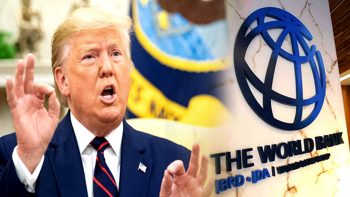 Trump gave suggestions to World Bank against China