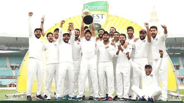 India Wins In Austraila