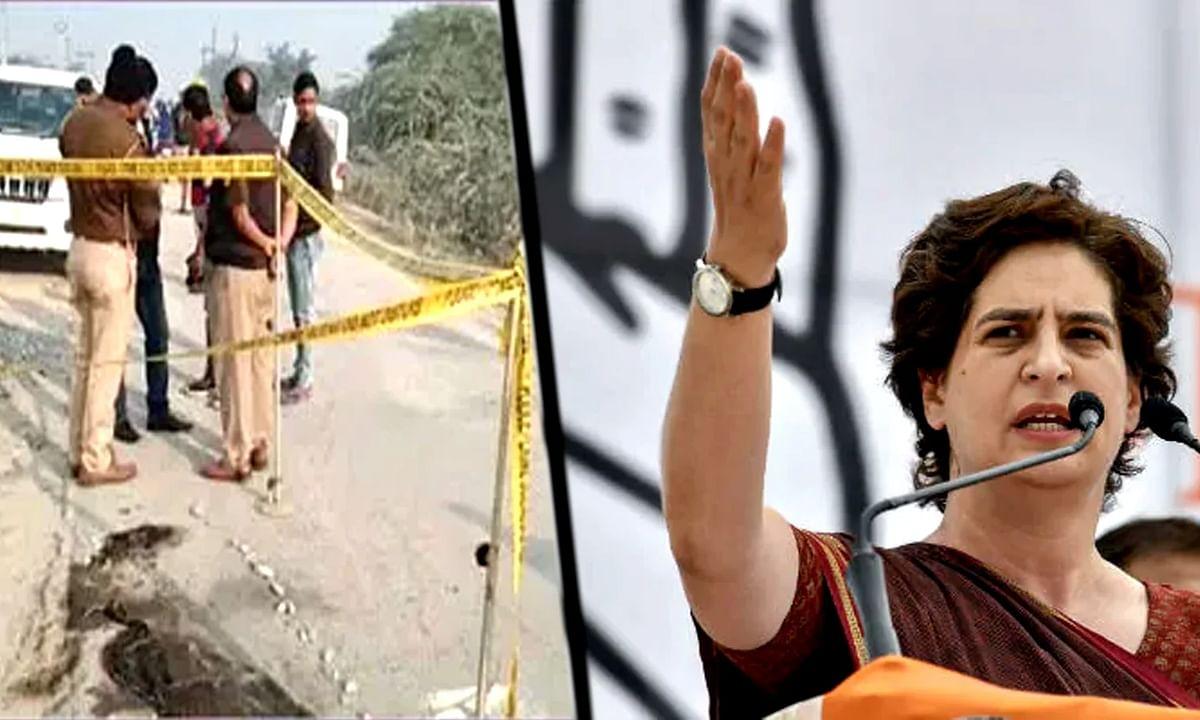 उन्नाव: भाजपा के सब कुछ ठीक वाले बयान पर प्रियंका ने बताई असलियत