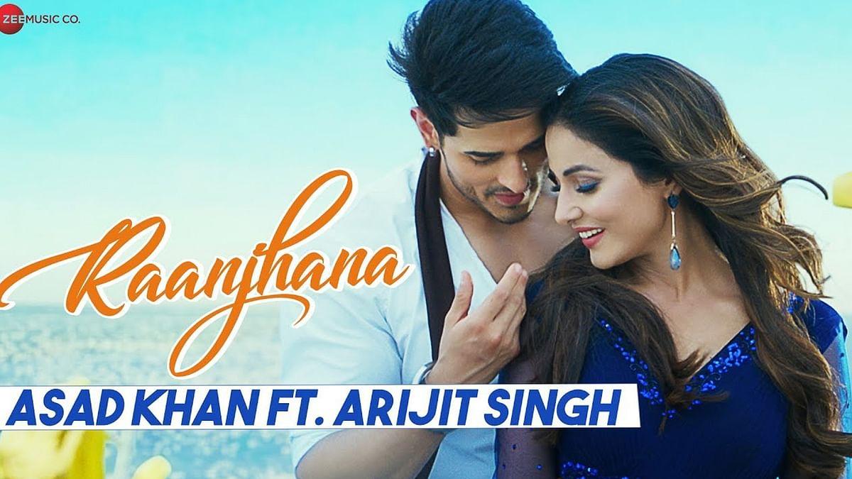 हिना खान-प्रियांक शर्मा का गाना 'रांझणा' रिलीज