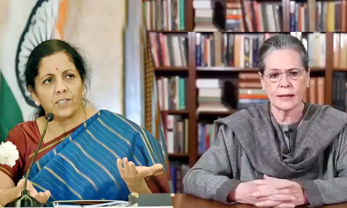 CAA पर सोनिया गांधी की टिप्पणी पर जमकर भड़की निर्मला सीतारमण