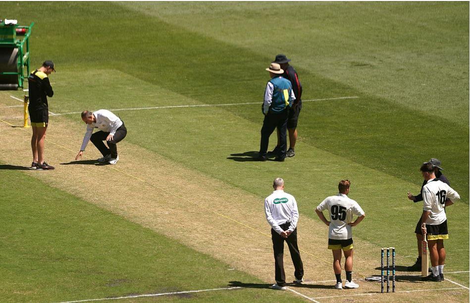 MCG के मैदान पर खतरनाक उछाल, खिलाड़ी हुए घायल, मैच रद्द