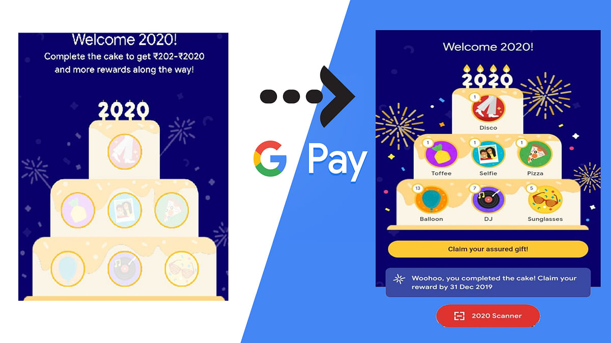 #GooglePay2020 #2020stamps