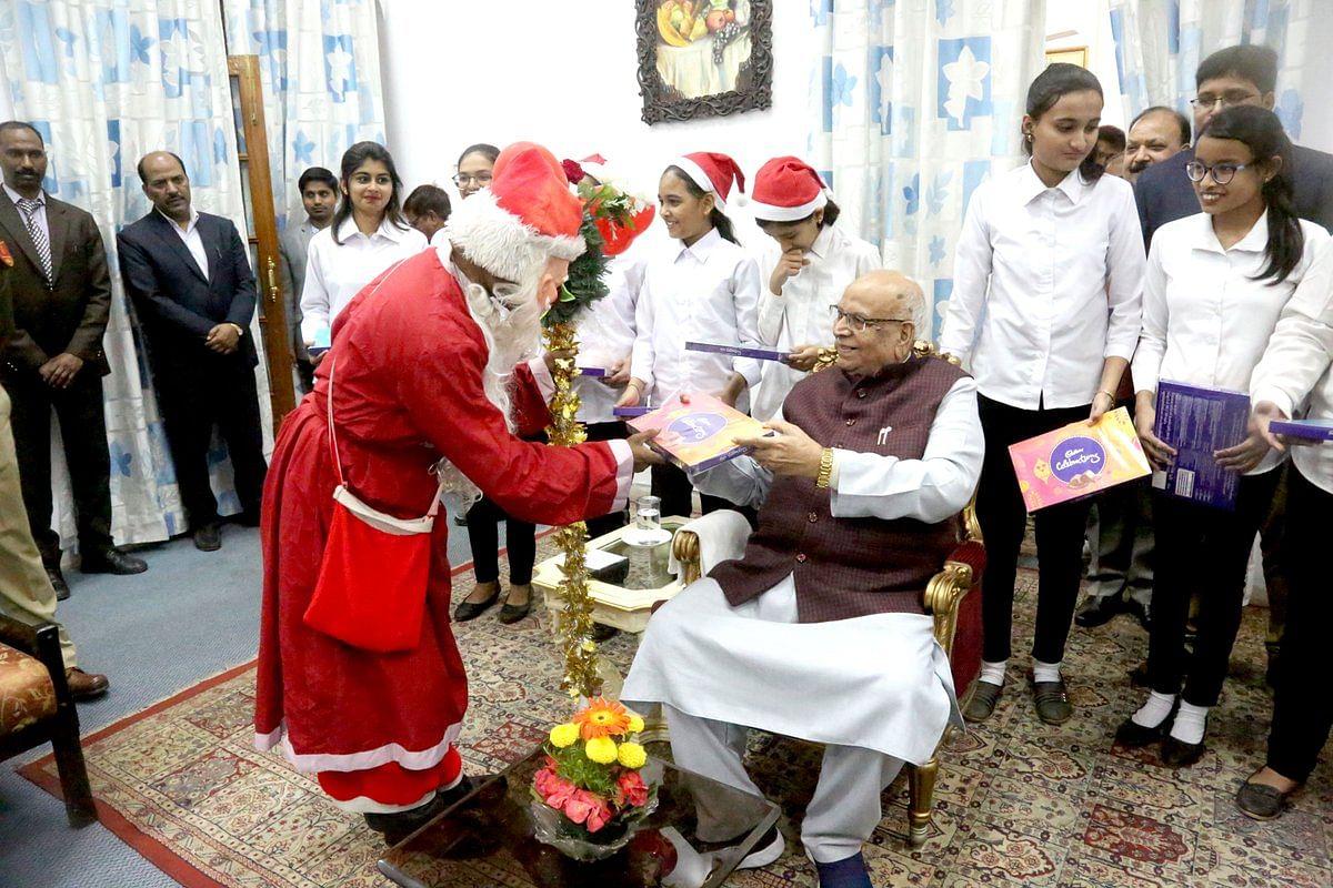 राज्यपाल लालजी टंडन ने  प्रदेशवासियों को क्रिसमस पर्व की बधाई दी
