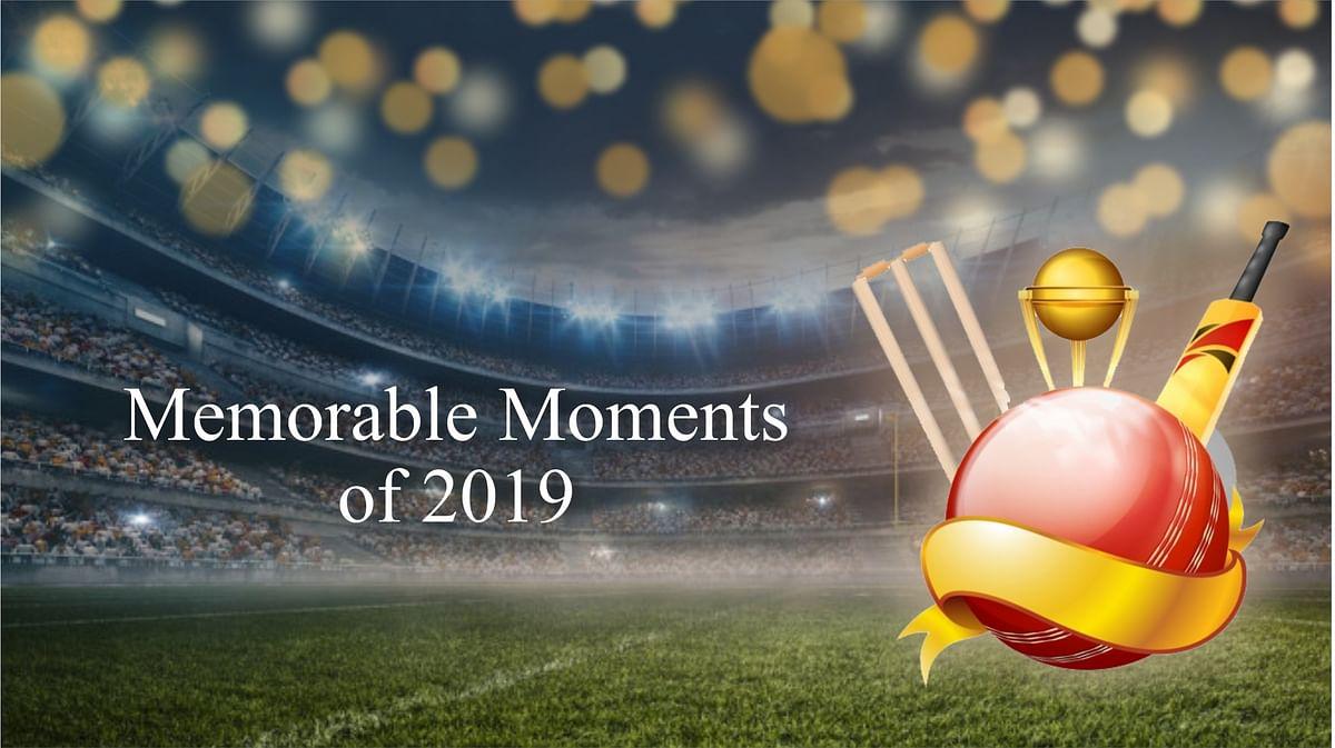 2019 में क्रिकेट जगत के बेहतरीन लमहे, ICC ने जारी किया वीडियो