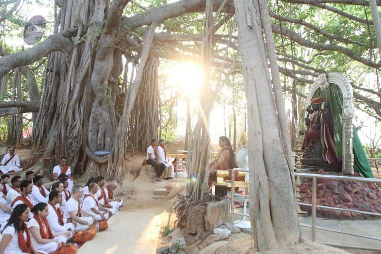 राष्ट्रीय वृक्ष बरगद के पेड़ को माना है।