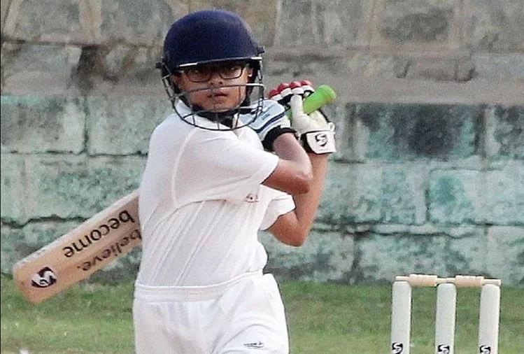 राहुल द्रविड़ के बेटे समित ने दिखाया गेंद और बल्ले से जौहर