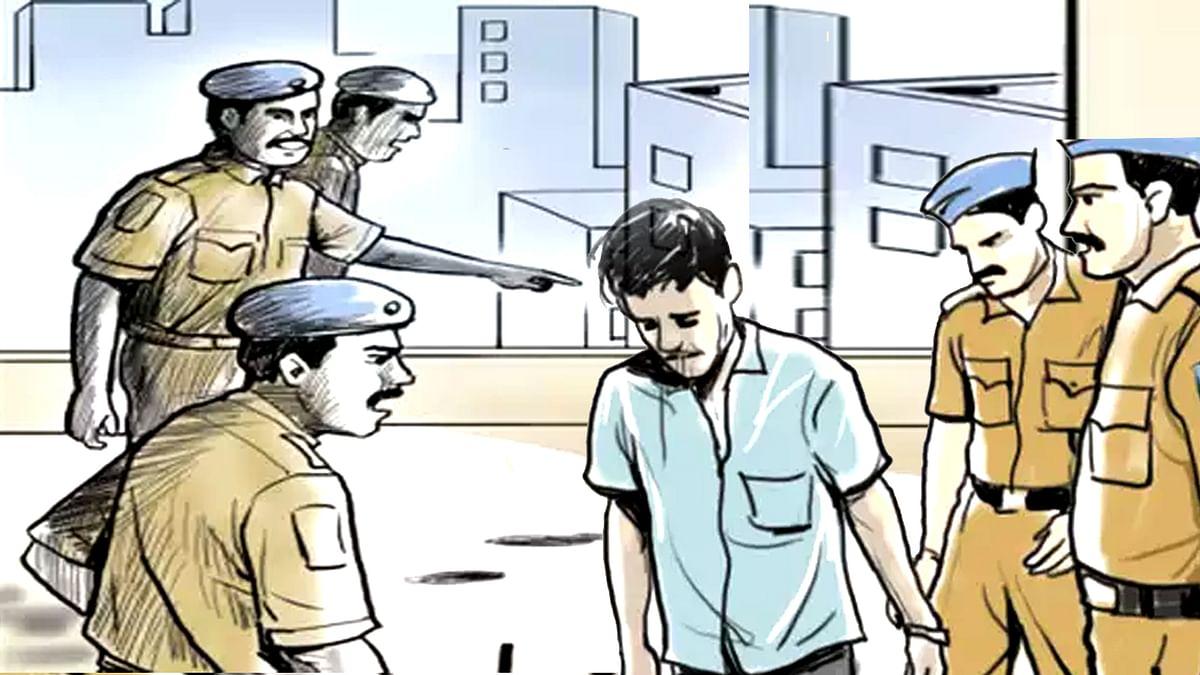 Police arrested son of media owner Jitendra Soni
