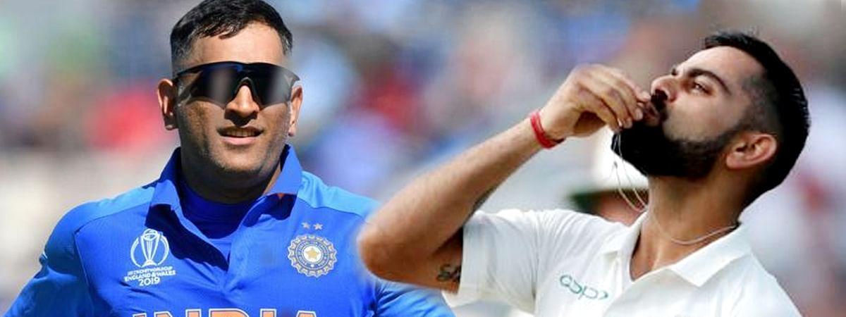क्रिकेट ऑस्ट्रेलिया ने वनडे में धोनी,टेस्ट में कोहली को दी कप्तानी