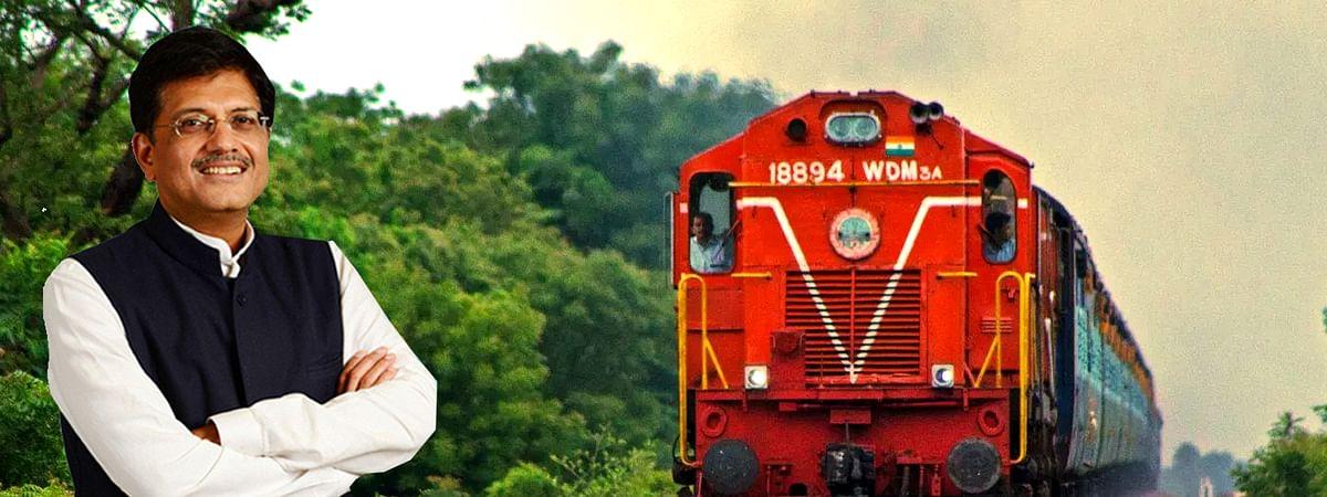 Indian Railway Minister Piyush Goyal give many information through tweet