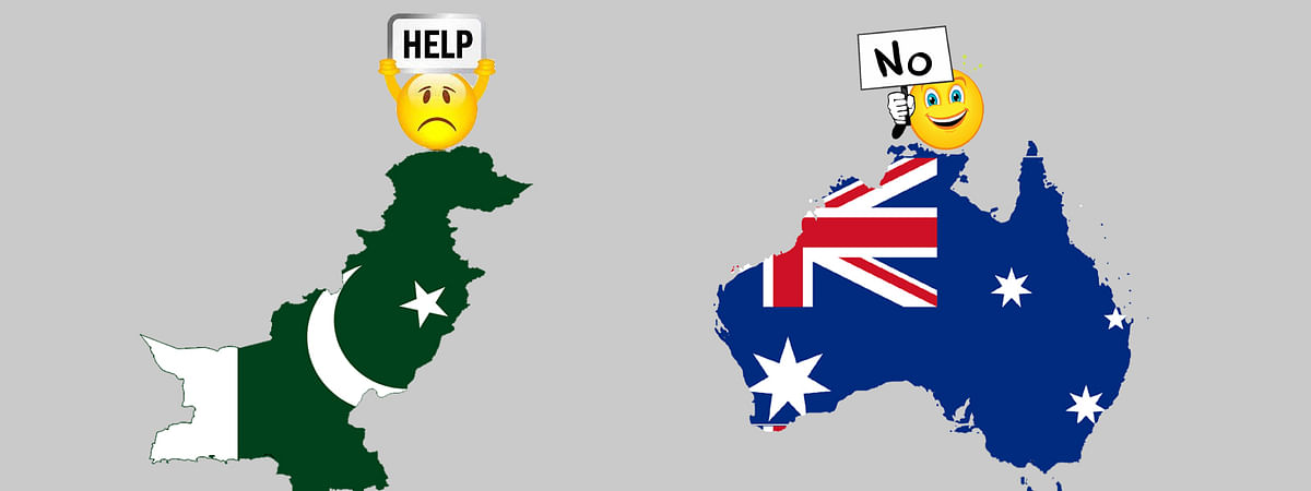 Australia Refuses Financial Assistance to Pakistan