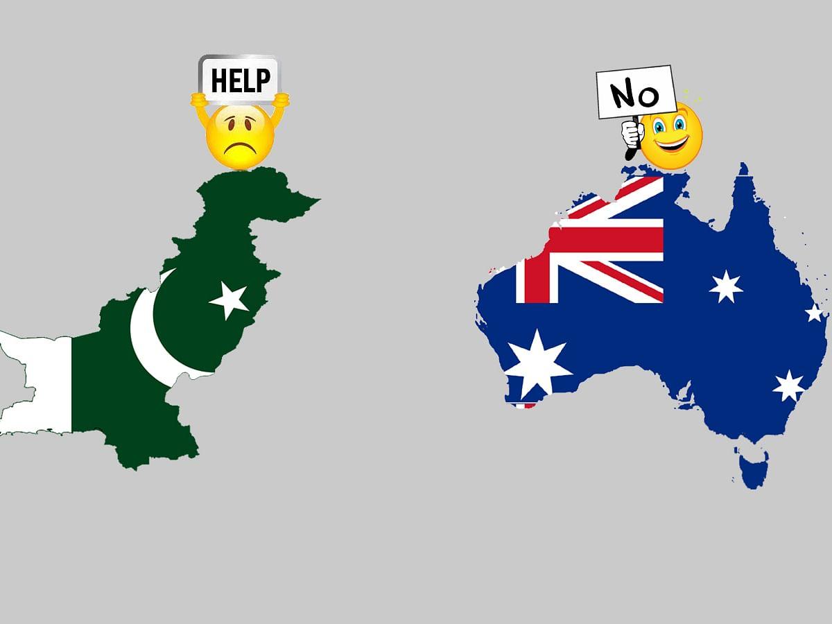 पाकिस्तान के सर से उठा ऑस्ट्रेलिया की आर्थिक मदद का साया