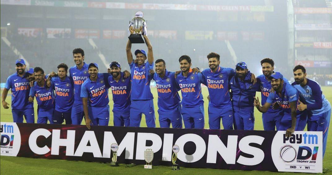 IND VS WI: निर्णायक मैच मैं भारत की जीत, लगातार 10वीं सीरीज पर कब्जा