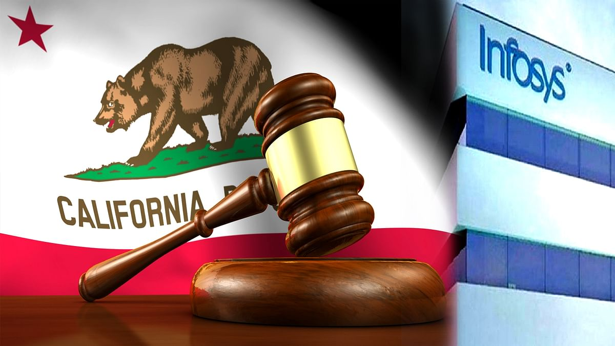 Infosys will pay to California Administration