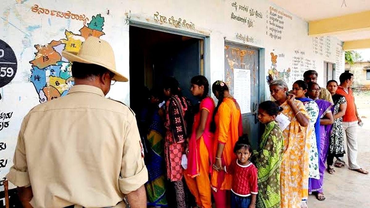 कर्नाटक उपचुनाव की वोटिंग शुरू, क्या टिकेगी भाजपा सरकार?