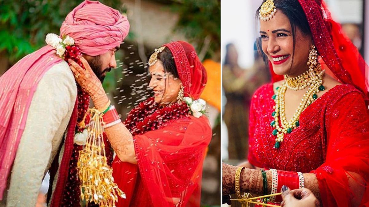 TV एक्ट्रेस मोना सिंह ने श्याम संग की शादी