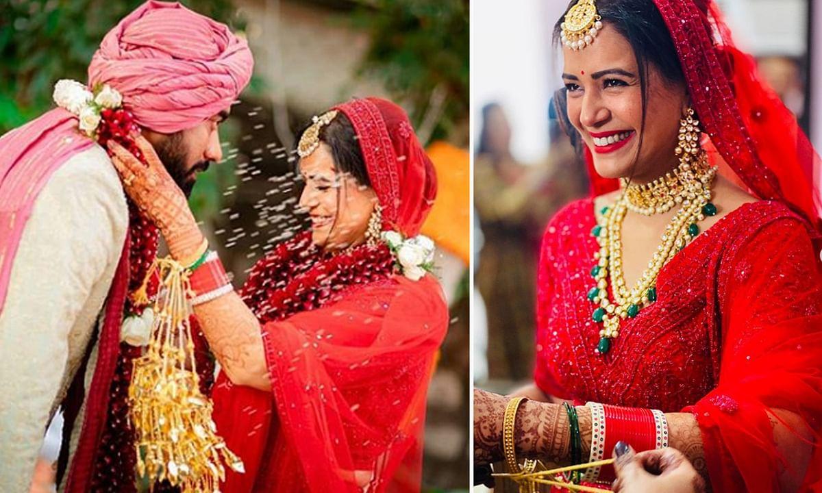 TV एक्ट्रेस मोना सिंह ने श्याम संग की शादी, वायरल हुई तस्वीरें