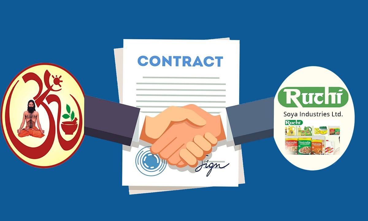पतंजलि कंपनी ने रूचि सोया से किया पहला बड़ा अधिग्रहण