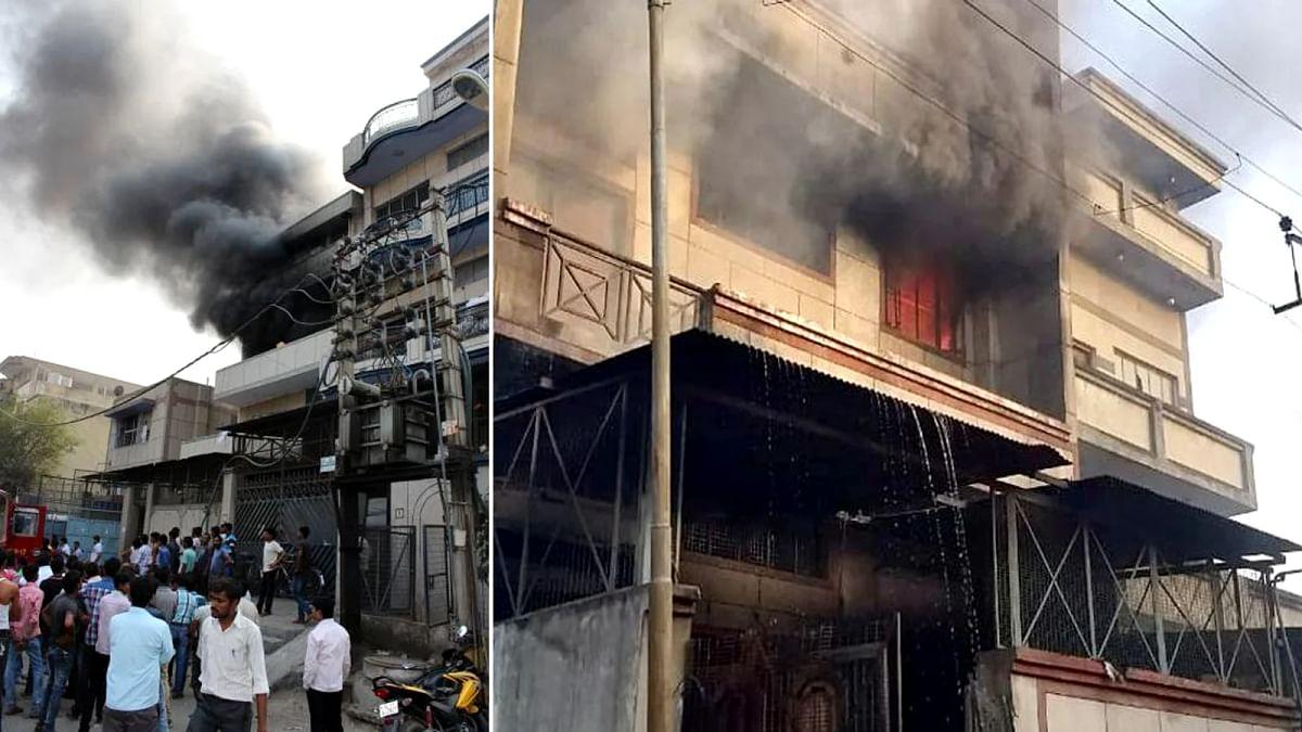 दिल्ली : फैक्ट्री में विस्फोट के बाद आग का तांडव; मची भयंकर तबाही