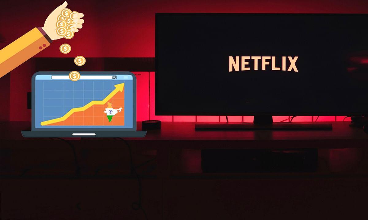 इंडियन कंटेंट बनाने बाजार में Netflix के इतने करोड़ दांव पर
