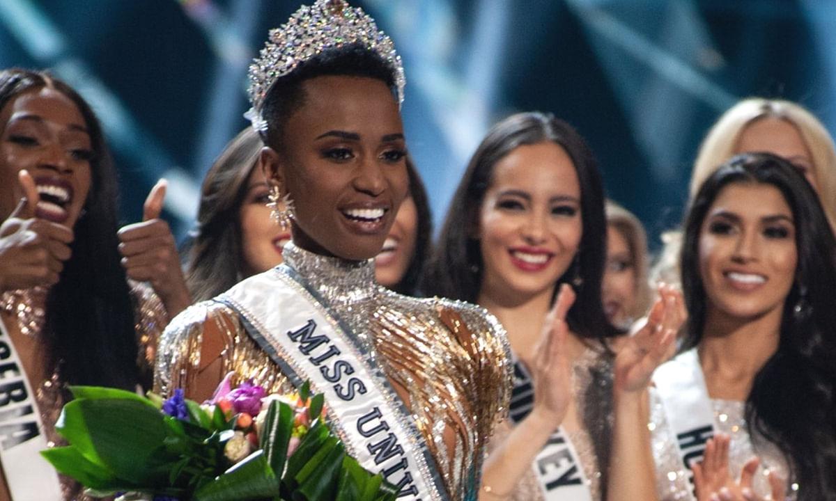 जोजिबिनी टूंजी ने किया मिस यूनिवर्स 2019 का ख़िताब अपने नाम