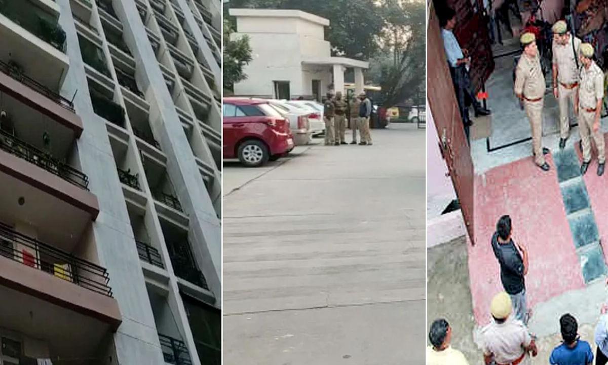 गाजियाबाद: पति ने दो पत्नियों के साथ बच्चों को मार कर की आत्महत्या