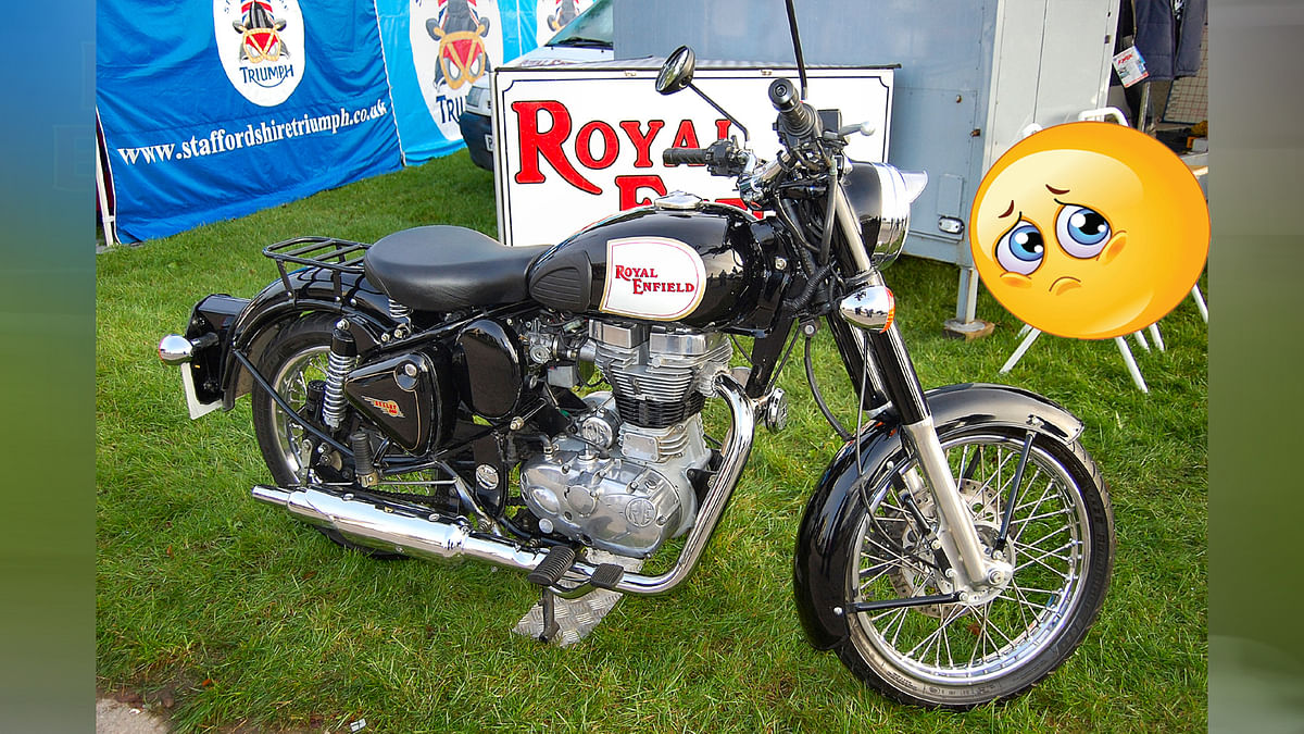 Royal Enfield will Close his Bullet Sale