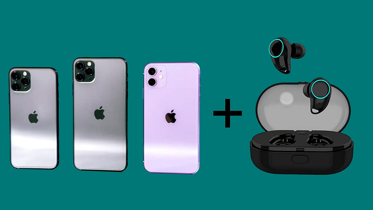 Truly-Wireless Earbuds Free With iphone 12