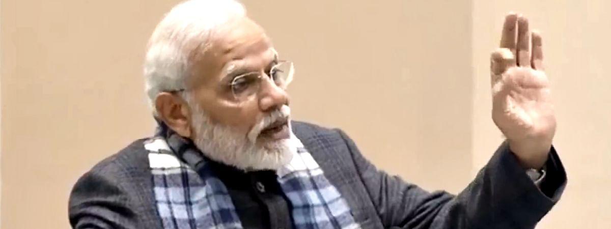 PM Modi Reached ASSOCHAM Event